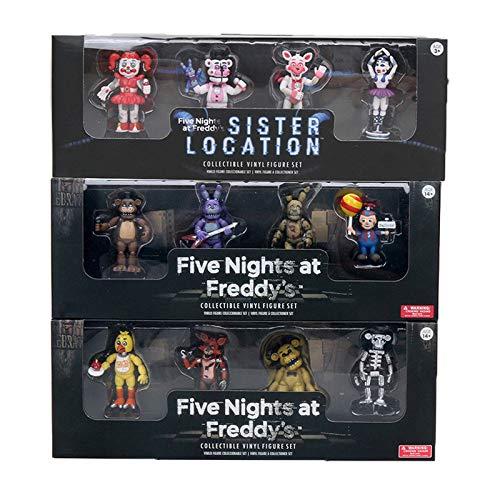 Panamat Action & Toy Figures - 4pcs/lot Five Nights at Freddy's 4 Figure Pack Five Nights at Freddys Action Figures FNAF 5cm Toys Model 1 PCs -