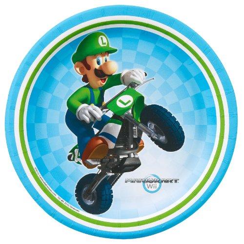 Mario Kart Wii Dessert Plates (8), Health Care Stuffs