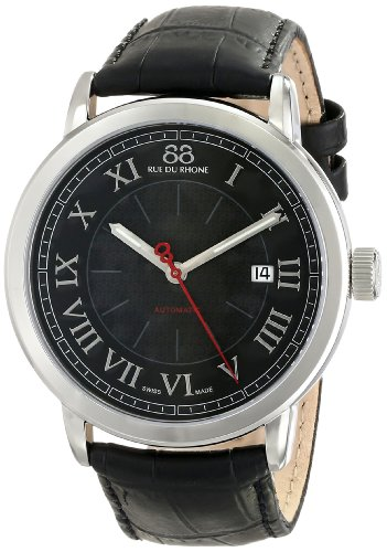 88-Rue-du-Rhone-Mens-87WA120043-Analog-Display-Swiss-Automatic-Silver-Watch