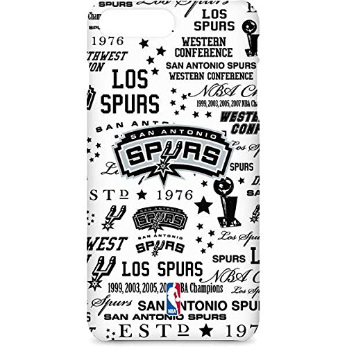 NBA San Antonio Spurs iPhone 7 Plus Lite Case - San Antonio Spurs Historic Blast Lite Case For Your iPhone 7 (Lite Spur)