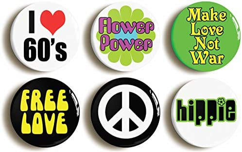 "TAKE A TRIP 25mm 1/"" Button Badge Novelty Cute Hippy 60/'s"