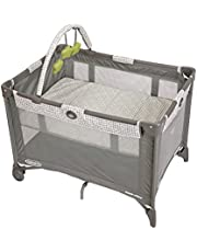 Graco Pack 'n Play On the Go Playard | Includes Full-Size Infant Bassinet, Push Button Compact Fold, Pasadena