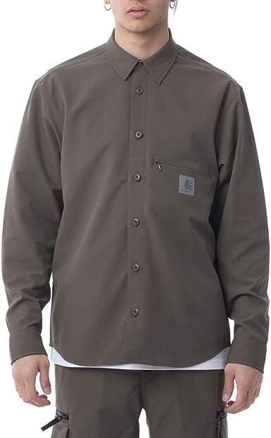 Carhartt Copeman Shirt I027683 Moor - Camiseta: Amazon.es: Ropa y accesorios