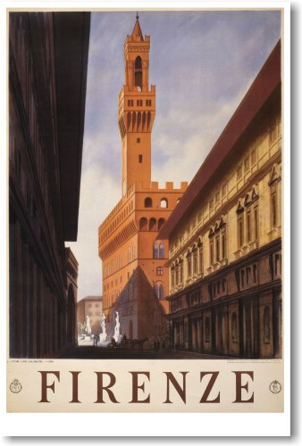 NEW Travel Vintage Art Tourism POSTER - Firenze Italy 1938 Florence - 1938 Art