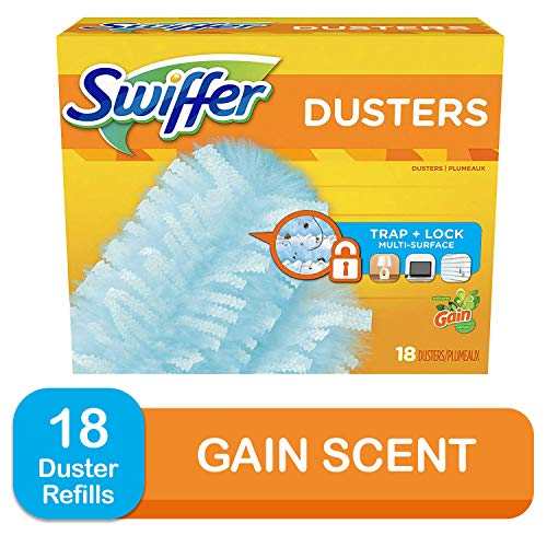 Swiffer 180 Dusters, Multi Surface Refills with Gain Scent, 18 Count