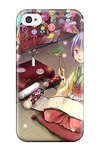 New Fashion Premium Tpu Case Cover For Iphone 4/4s - Animal Bird Hieda No Akyu Japanese Rikkunia Shorttouhou