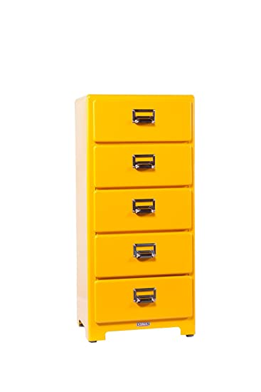 Dulton 5 Drawers Chest (Yellow)