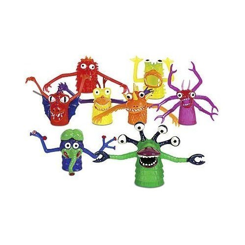 THE TERRIFYING FINGER MONSTER - SET OF 5 ASSORTED FINGER PUPPETS by Accoutrements]()