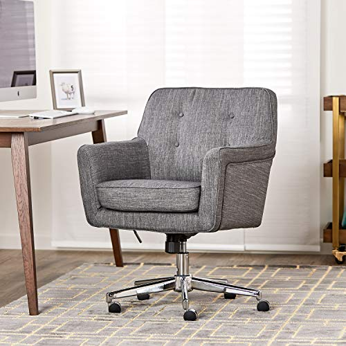 Serta Home Office Desk Chairs Ashland Winter River Gray Home
