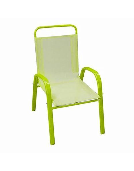 Home Line Silla Infantil (60x43x37 cm) Verde: Amazon.es: Hogar