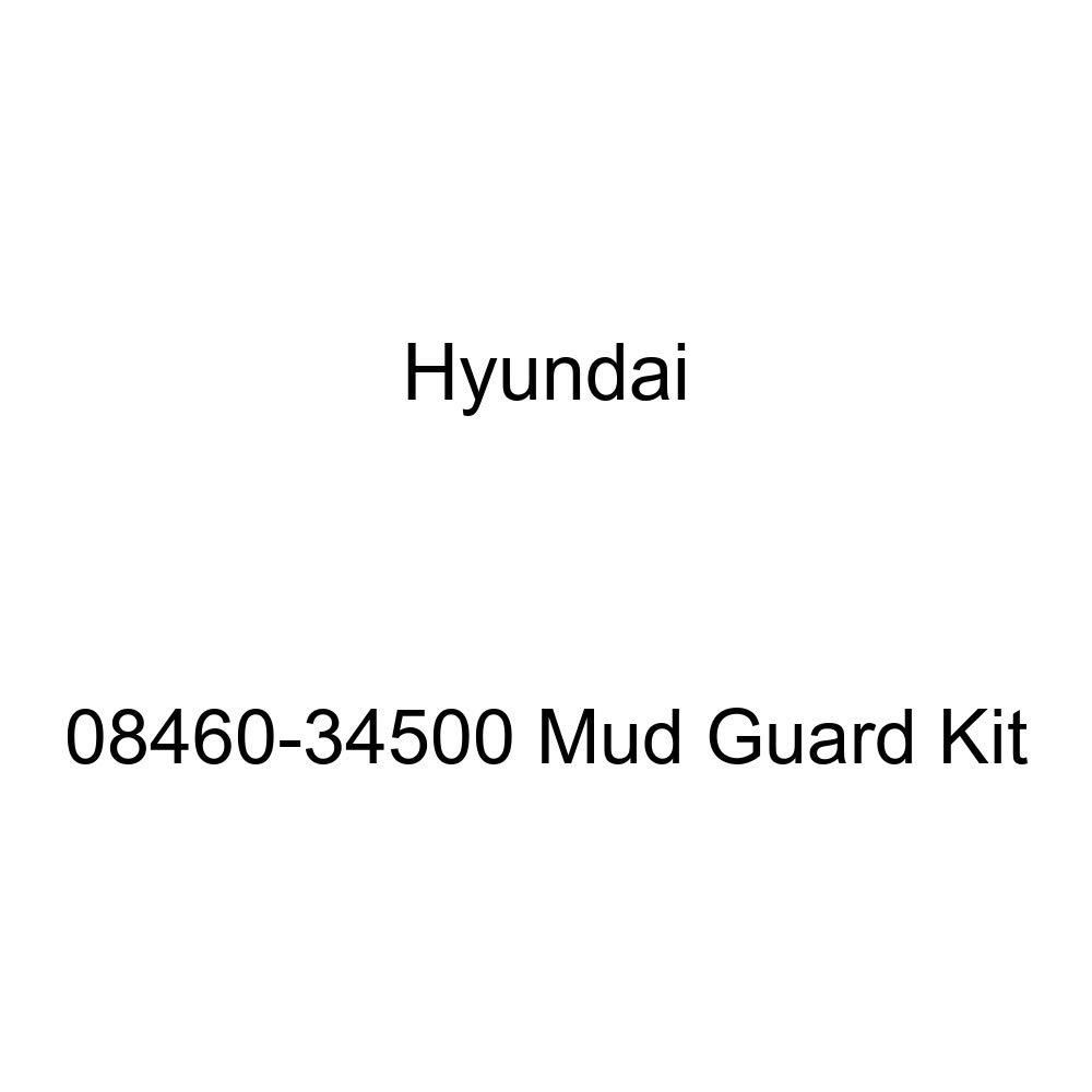 HYUNDAI Genuine 08460-34500 Mud Guard Kit