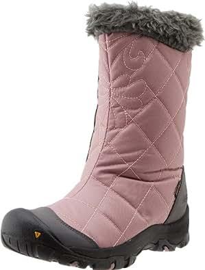 KEEN Women's Bailey Slip-On Shoe,Woodrose/Gargoyle,9.5 M US