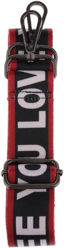 L/änge Verstellbar 140 cm chiwanji Taschengurt Nylon Schulterriemen Schultergurt Trageriemen f/ür Schultertaschen Breit 3,8cm Goldschnalle