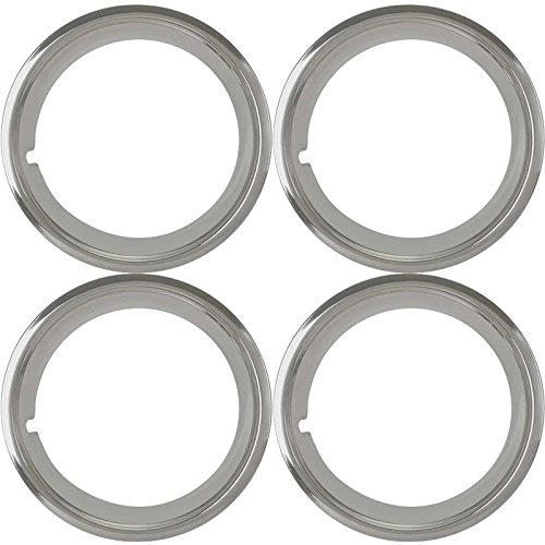 MACs Auto Parts 44-40216 Ford Mustang Wheel Trim Ring Set - 4 Pieces - Original Style