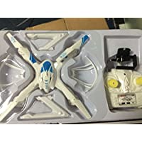FunnyPro RC Quadcopter Remote Controlled Quadcopter Drone with HD Camera for Real Time Video Transmission(White)