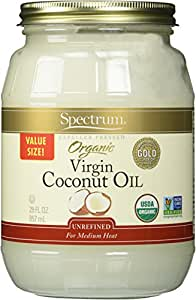 Spectrum Naturals Organic Virgin Coconut Oil, 29 Ounce