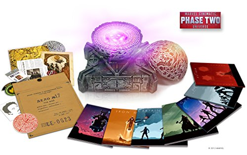 Marvel Cinematic Universe: Phase Two (Iron Man 3 / Thor: The Dark World / Captain America: The Winter Soldier / Guardians of the Galaxy / Avengers: Age of Ultron / Ant-Man)(Amazon Exclusive) [Blu-ray]