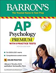 AP Psychology Premium: With 6 Practice Tests (Barron's Test P