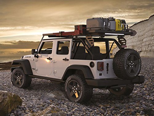 Amazon.com: Front Runner Jeep Wrangler JKU 5 Door Unlimited Roof Rack/Full  Size Aluminum Off Road Slimline II Cargo Carrier   By: Automotive