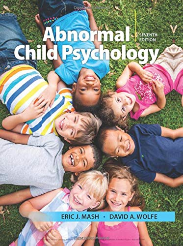 Abnormal Child Psychology by Cengage Learning