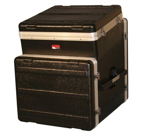 Gator 10U Top, 8U Side Console Audio Rack (GRC-10X8) by Gator