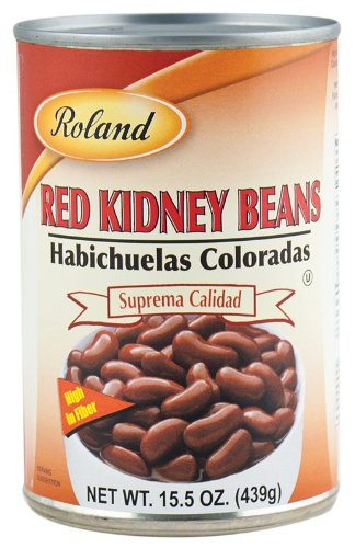 Roland Foods Kidney Beans, Red, 15.5 Ounce (Pack of 24) by Roland