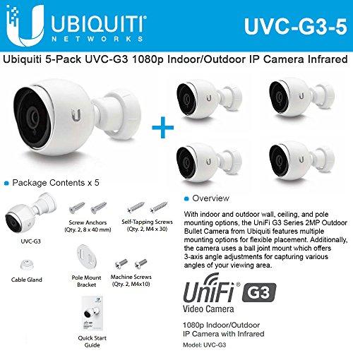 16 Port Passive Video - Ubiquiti UVC-G3-5 Unifi Video Camera (5-Pack)