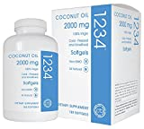 Cheap Creative Bioscience Coconut Oil, 180 Count