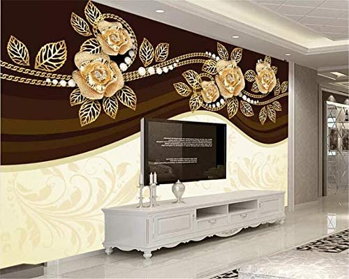 Tianxinbz 3d Decorative Sofa Wallpaper Royal Luxury Jewelry