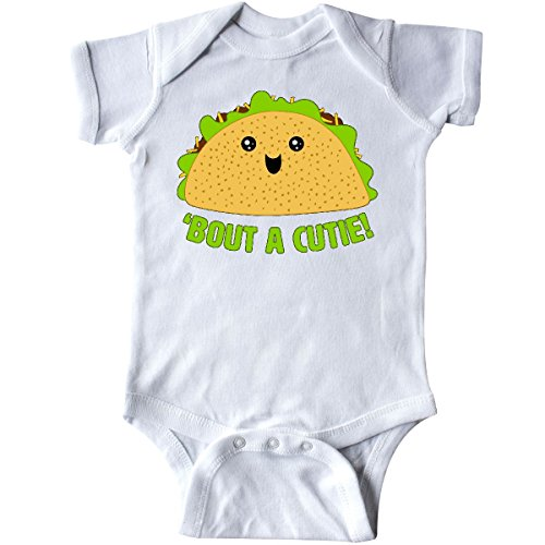 Onesie Food (inktastic - Taco Bout a Cutie Cute Taco Pun Infant Creeper 6 Months White 29a62)