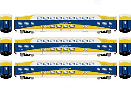 Athearn ATH25951 HO RTR Bombardier Coach, Northstar Commuter
