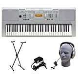 Yamaha YPT-340 61-Key  Keyboard Pack with Headphones, Power Supply, and Stand
