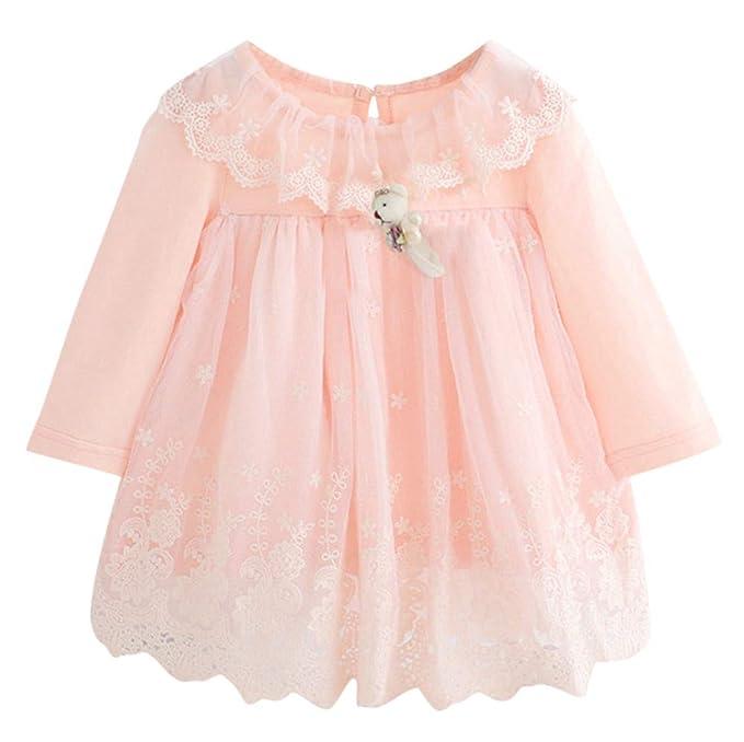 Amazon.com: GorNorriss Vestido de bebé recién nacido para ...