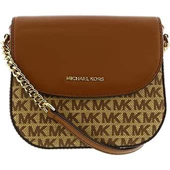 Michael Kors Womens Handbag, Bg/Ebony - 32T9LF5C0J