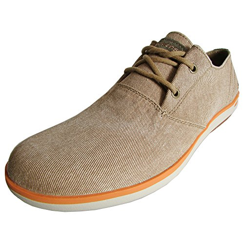 Skechers Heren Relaxed Fit Spencer Leandro 64077 Oxford Shoe Cacao