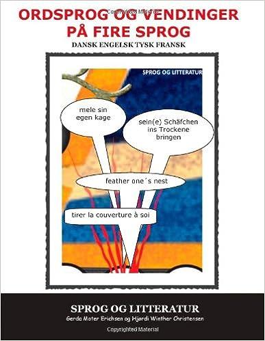 Book Ordsprog og vendinger på fire sprog (Danish Edition)