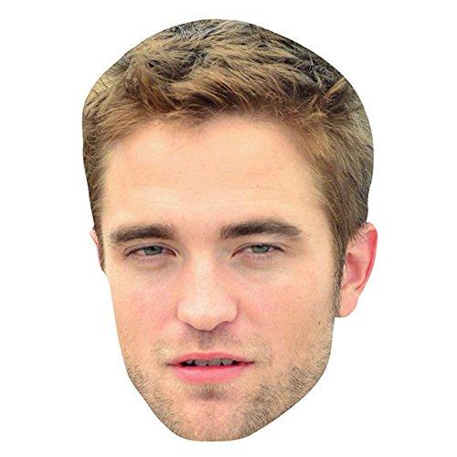 Robert Pattinson Celebrity Mask, Card Face and Fancy Dress Mask