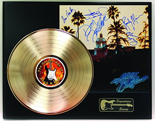 Eagles Gold LP Record Reproduction Signature Series Limited Edition Display