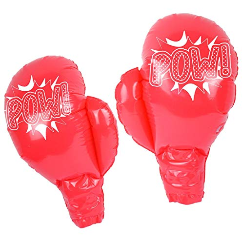 Hi Fashionz Childrens 39cm Inflatable Blow Up Toy Gloves Kids Novelty Party Toys Accessory One Size (Pack of 6) -