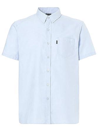 174287e01a2fe5 Oakley Herren Hemd kurz Oxford Shirt  Amazon.de  Bekleidung