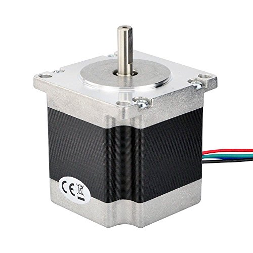 Nema 23 CNC Stepper Motor 2.8A 178.5oz.in/1.26Nm CNC Stepping Motor DIY CNC Mill by STEPPERONLINE (Image #2)