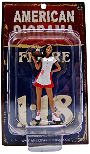 American Diorama 23863 Carhop Waitress Brittany Figure for 1-18 Scale Models
