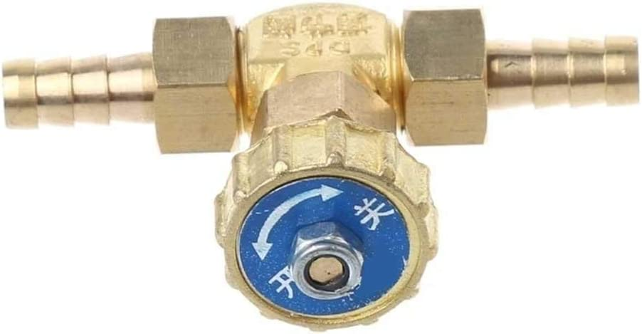 BAIJIAXIUSHANG-TIES Valves Specification : Outlet Diameter 10mm Fittings Elbow Brass Needle Valve 10mm Propane Butane Gas Adjuster