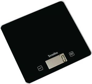 Balance de Cuisine, Tare, Conversions Liquides, Ultra-Fine, Portée 5 kg, Classic Black, Noir
