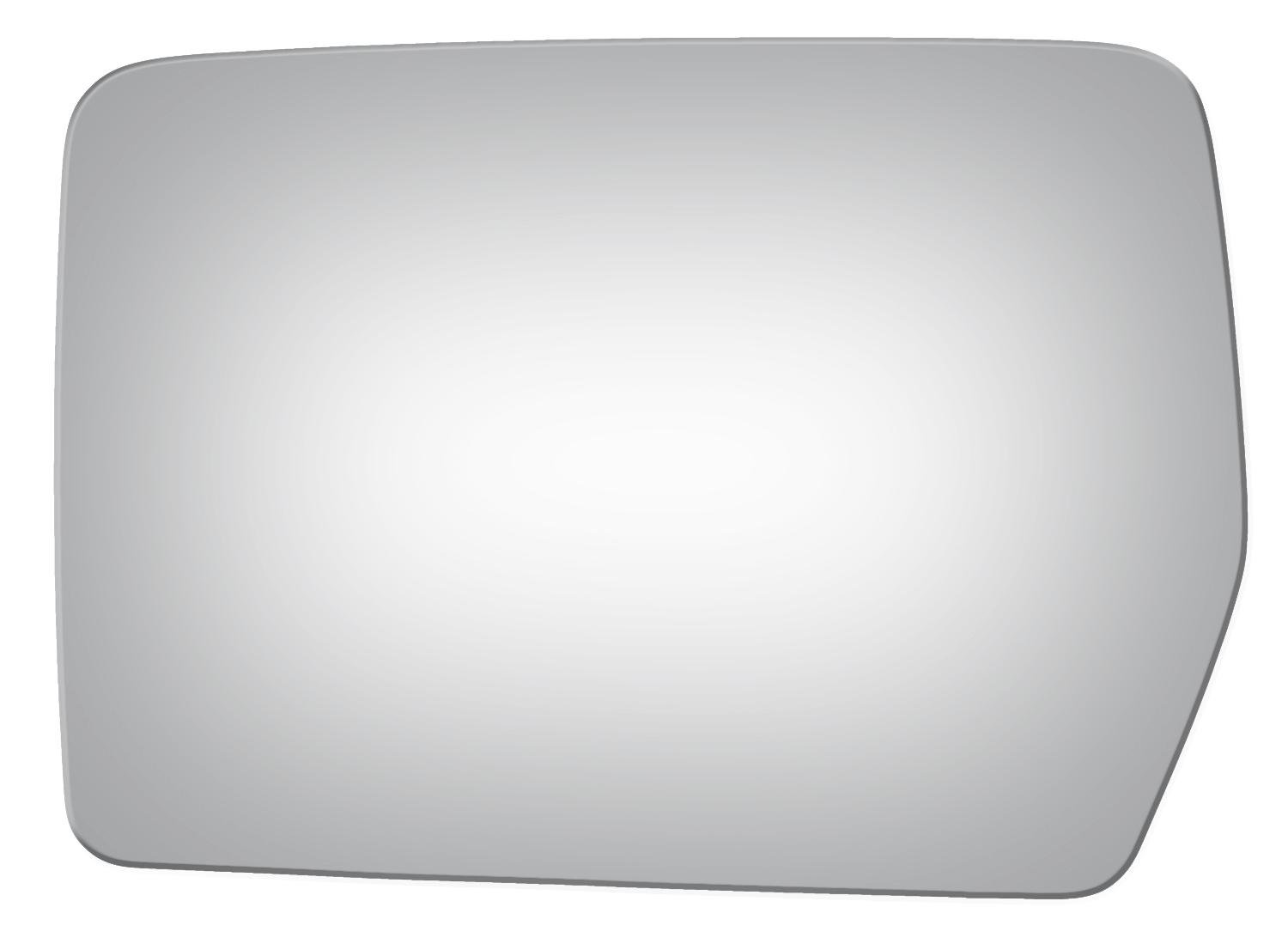 Burco 2980 Left Driver Side Replacement Mirror Glass for FORD F150 (2004 2005 2006 2007 2008 2009 2010)