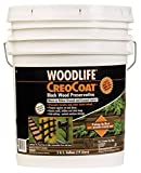 RUST-OLEUM 14435 Creocoat Wood, 5-Gallon, Black