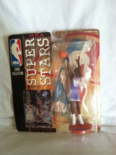 - Starting Lineup GLEN RICE / CHARLOTTE HORNETS 98/99 Season NBA SUPER STARS Super Detailed Figure, Display Base & Exclusive Upper Deck Collector Trading Card