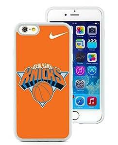 New Custom Design Cover Case For iPhone 6 4.7 Inch New York Knicks 4 White Phone Case