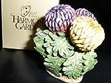 Retired Harmony Kingdom Lord Byron's Harmony Garden Chrysanthemum Treasure Box Figurine