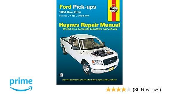 Ford Pick Ups  Repair Manual Haynes Repair Manual Haynes  Amazon Com Books